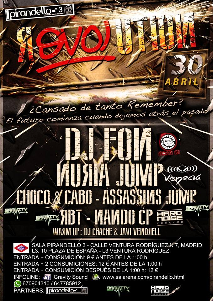 Flyer Fiesta Revolution